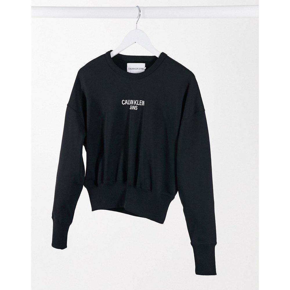 Sweat-shirt avec logo au dos - Calvin Klein Jeans - Modalova