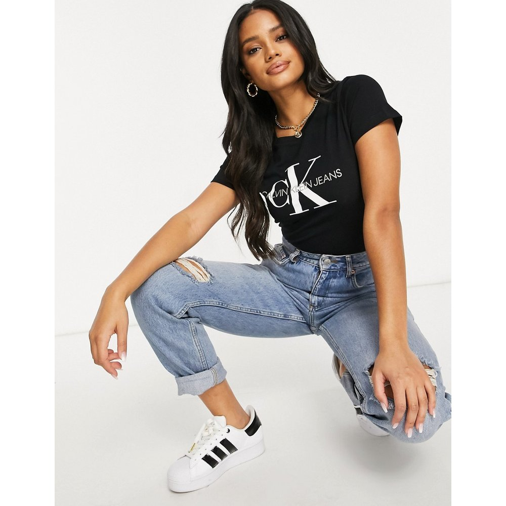 T-shirt avec logo - Calvin Klein Jeans - Modalova