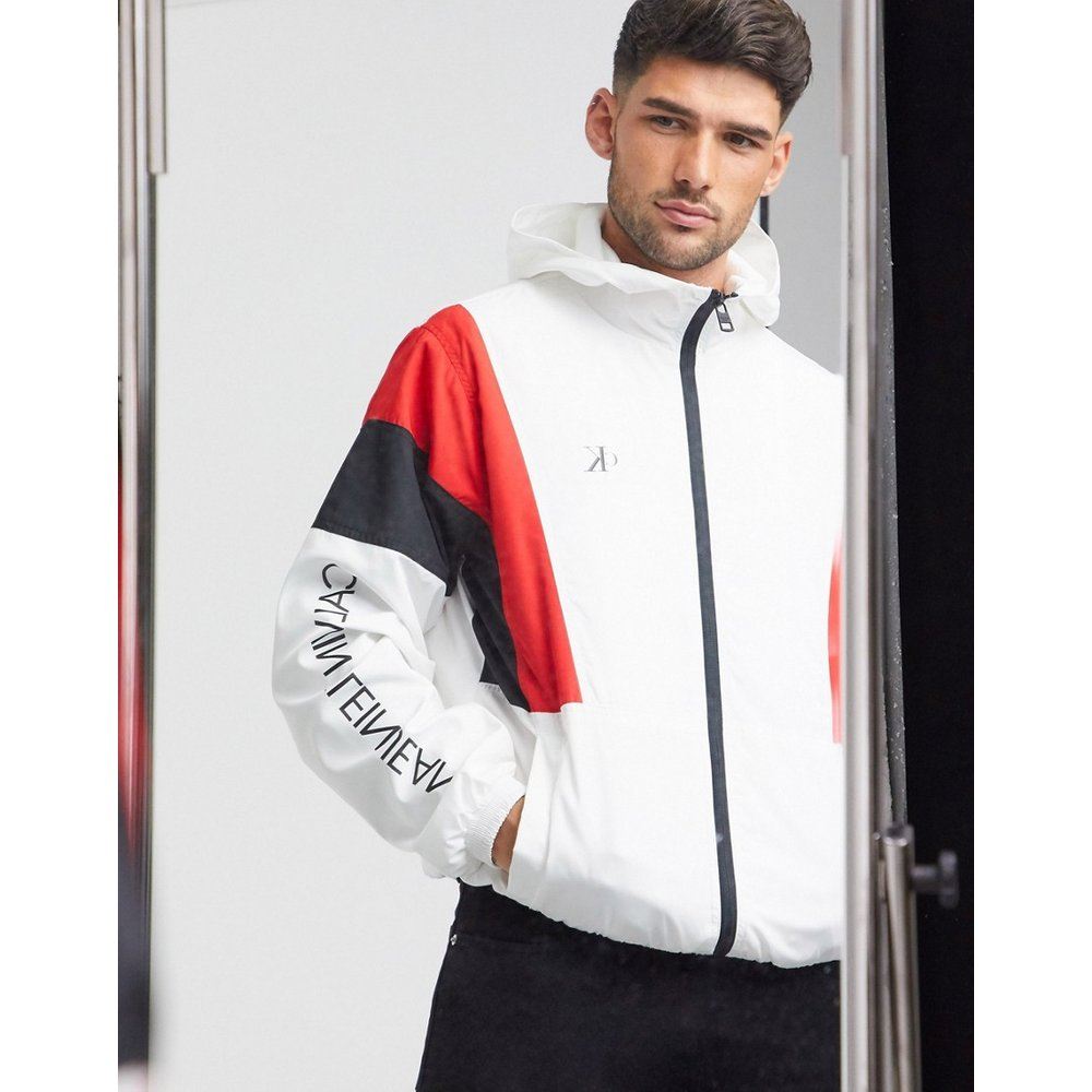 Veste de survêtement effet color block - Calvin Klein Jeans - Modalova