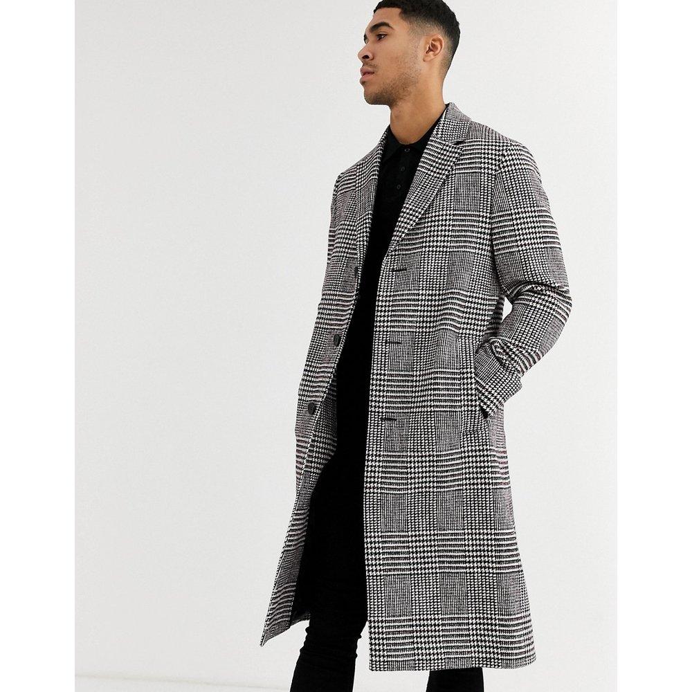 Manteau long à carreaux - Calvin Klein - Modalova