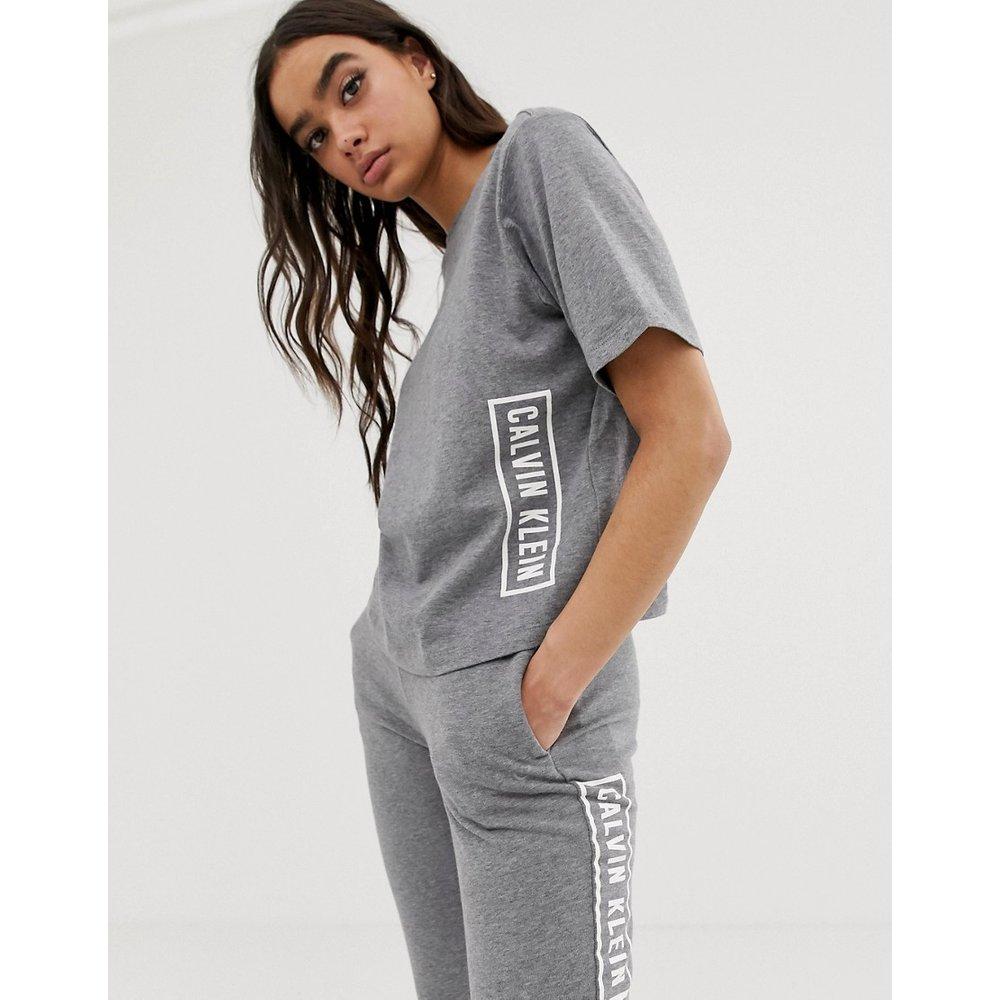 T-shirt à logo - chiné - Calvin Klein Performance - Modalova