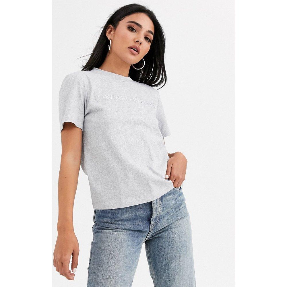 T-shirt à logo brodé - Calvin Klein - Modalova