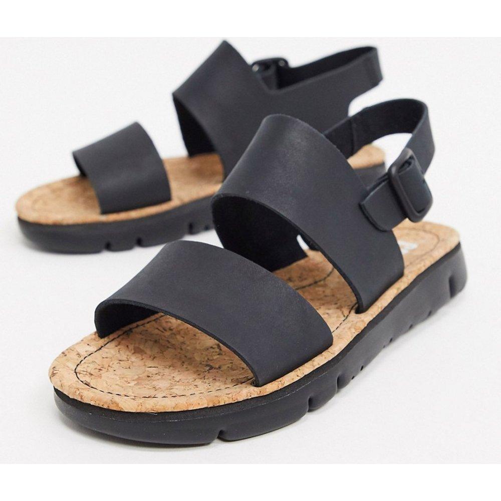 Sandales plates en cuir - Camper - Modalova