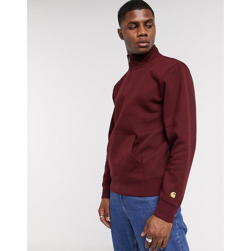 Chase - Sweat-shirt avec demi-fermeture éclair - Bordeaux - Carhartt WIP - Modalova