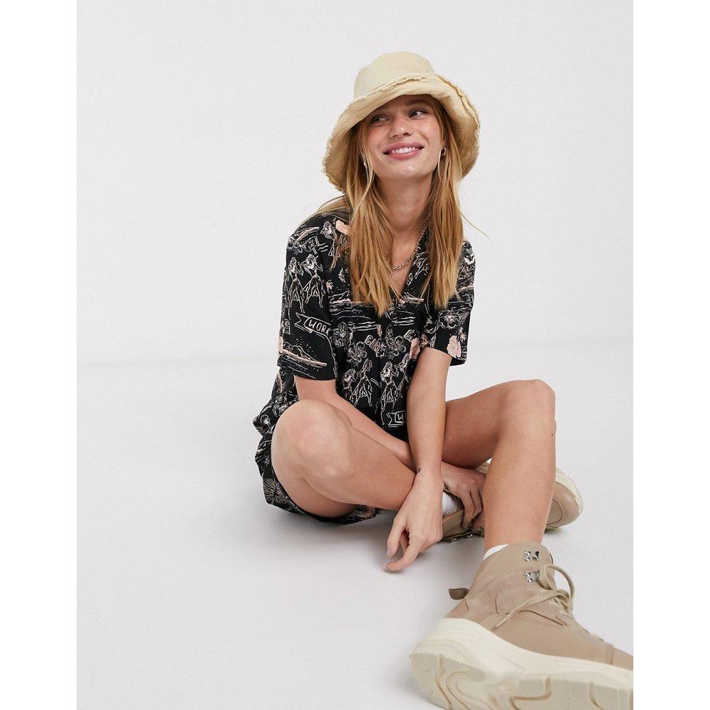 Chemise courte d'ensemble à logo floral - Carhartt WIP - Modalova