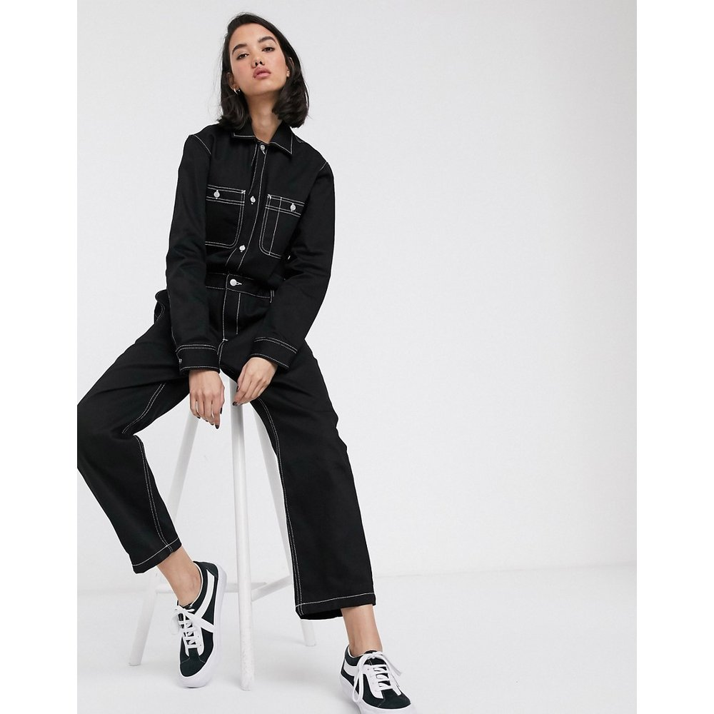 Combinaison décontractée en jean avec coutures contrastantes - Carhartt WIP - Modalova