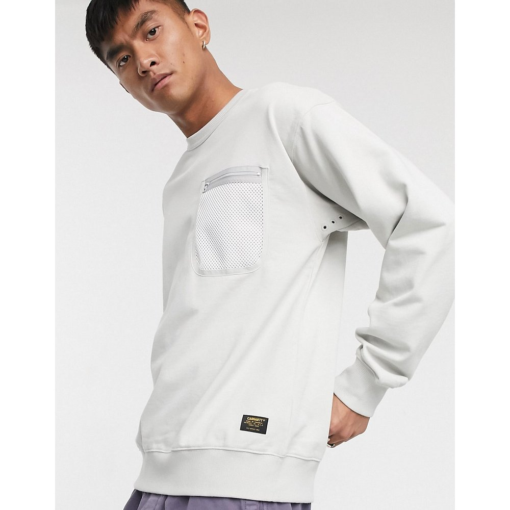 Sweat-shirt avec poche en tulle style militaire - Carhartt WIP - Modalova