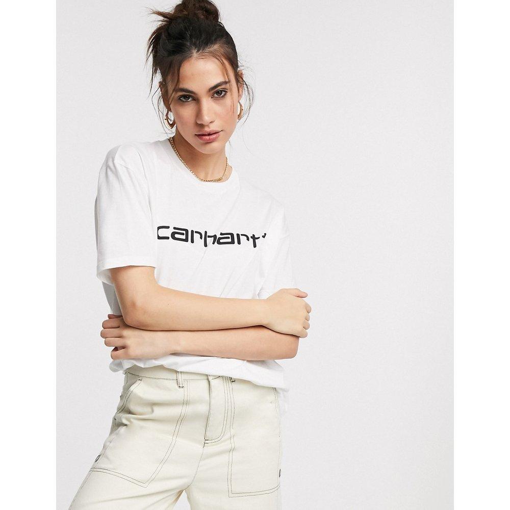 T-shirt griffé manches courtes- et noir - Carhartt WIP - Modalova