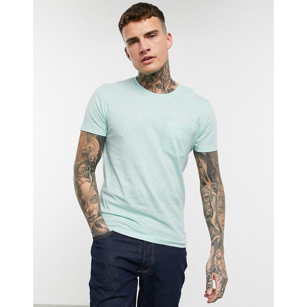 T-shirt à poche - Chiné - Celio - Modalova