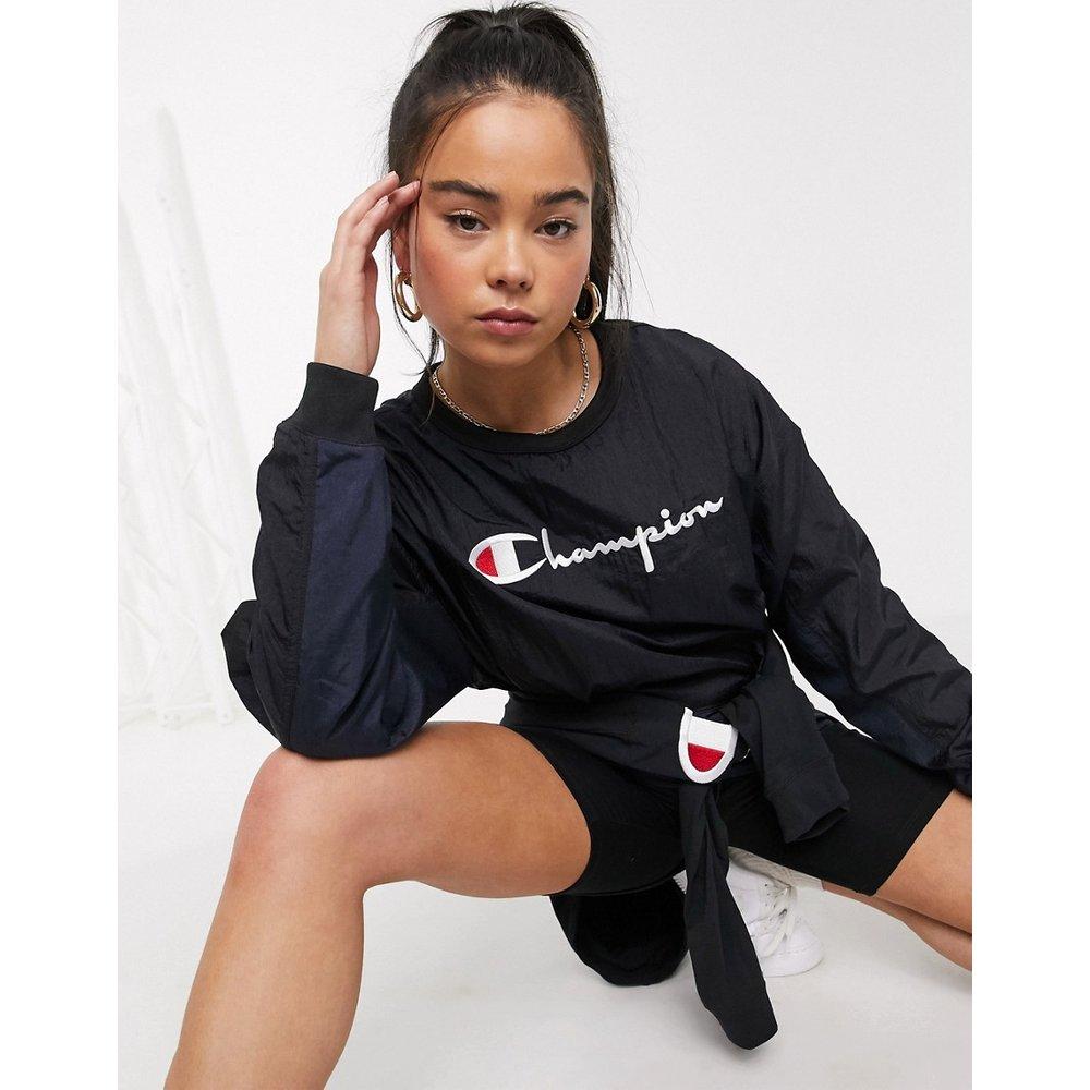 Champion - Sweat-shirt à logo-Noir - Champion - Modalova