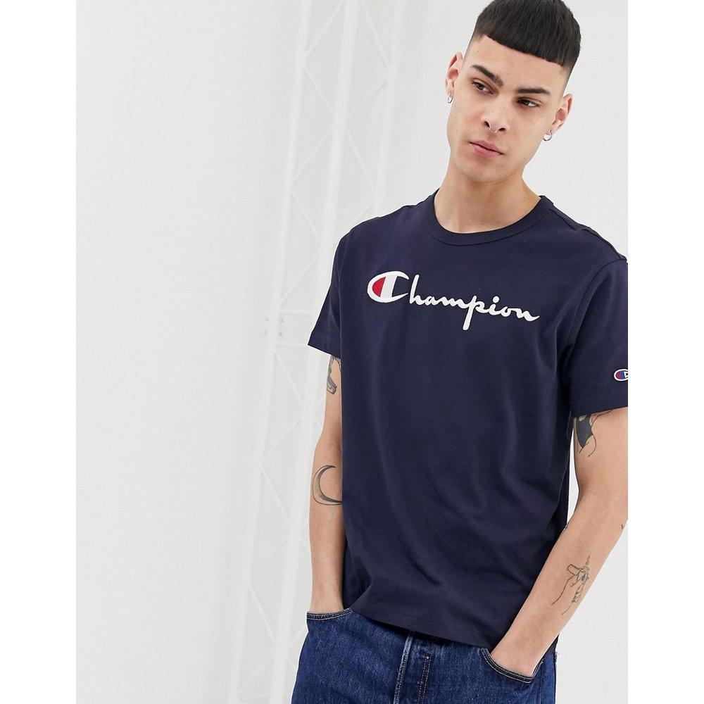 T-shirt à grand logo - Bleu marine - Champion - Modalova