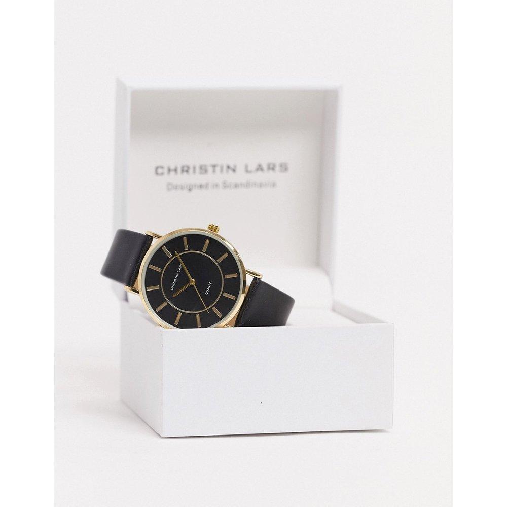 Montre bracelet cuir - Christin Lars - Modalova