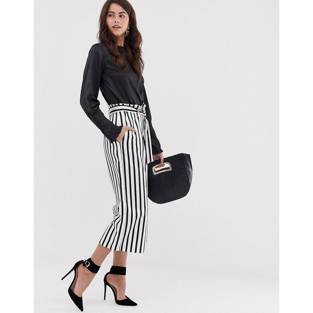 Closet - Pantalon large avec liens - closet london - Modalova