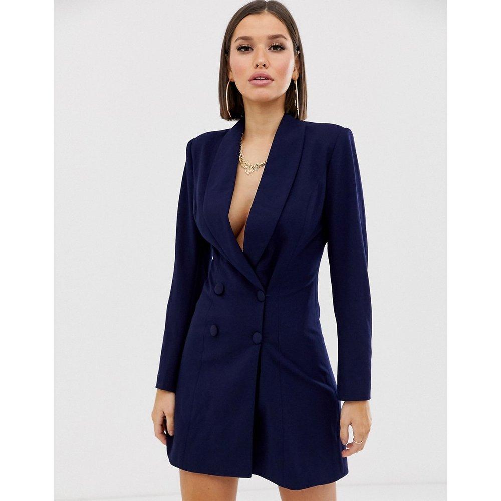 Robe blazer courte croisée - Club L London - Modalova