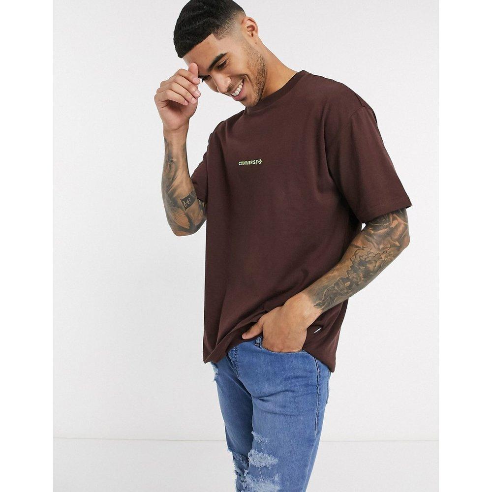 T-shirt oversize à bordures contrastantes - Converse - Modalova