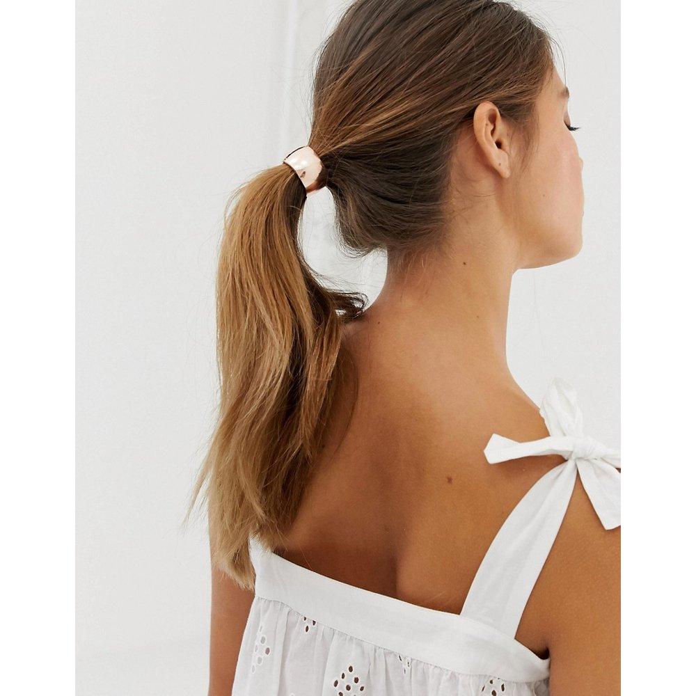 Élastique à cheveux - Or rose - DesignB London - Modalova