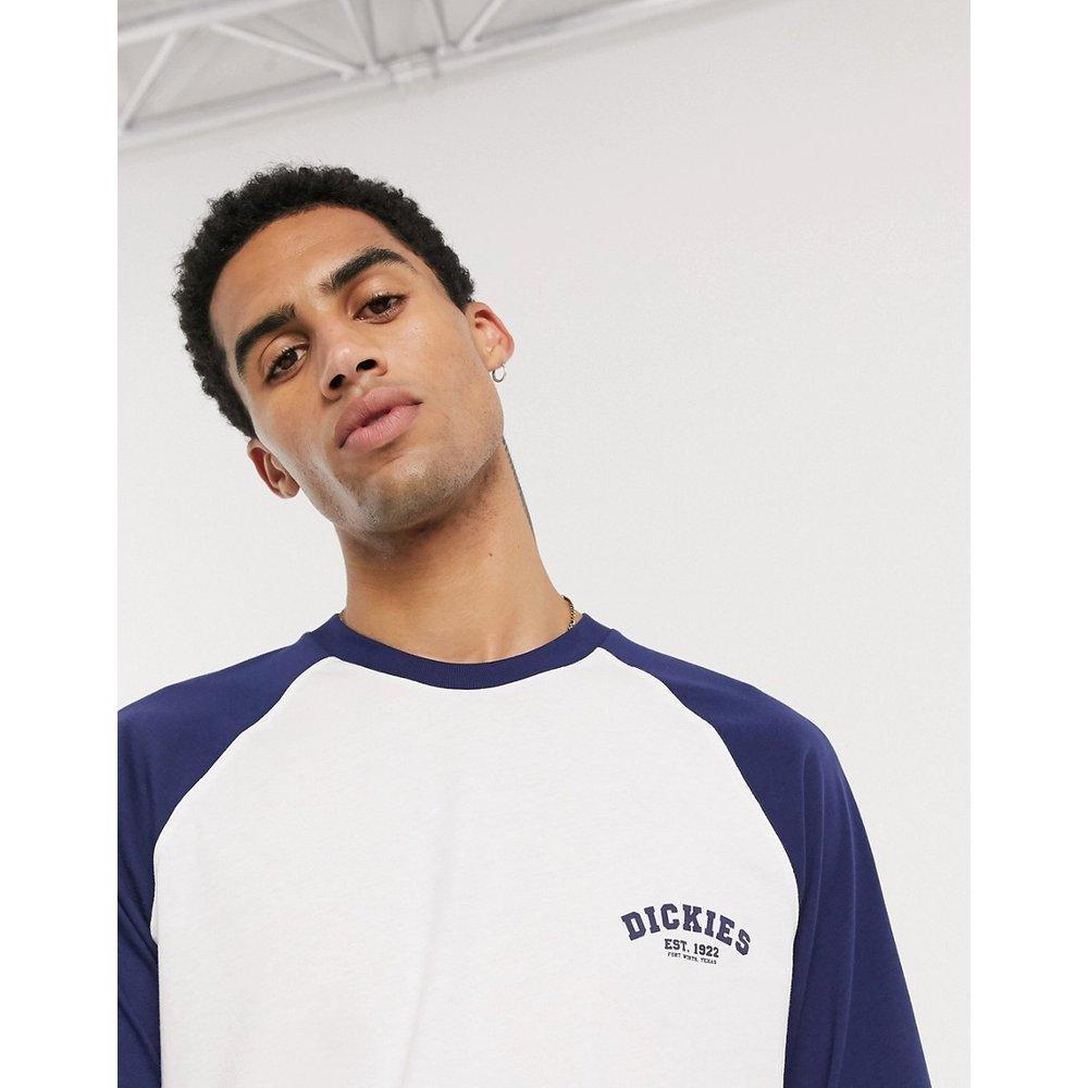 T-shirt de baseball à manches longues bleu marine - Dickies - Modalova