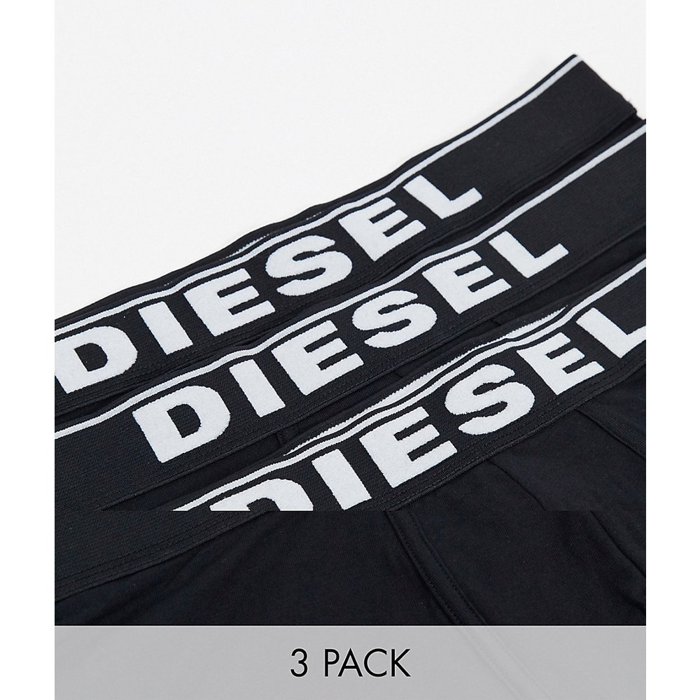 Lot de 3 boxers en coton stretch - Diesel - Modalova