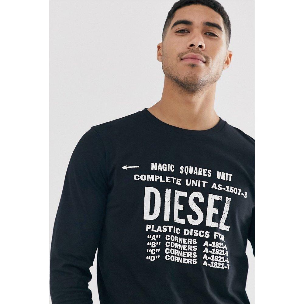 T-Diego-B6 - T-shirt manches longues à logo - Diesel - Modalova