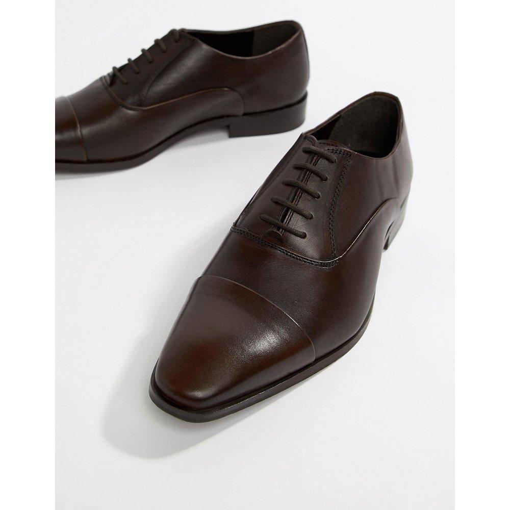Chaussures derby à bout renforcé en cuir - Dune - Modalova