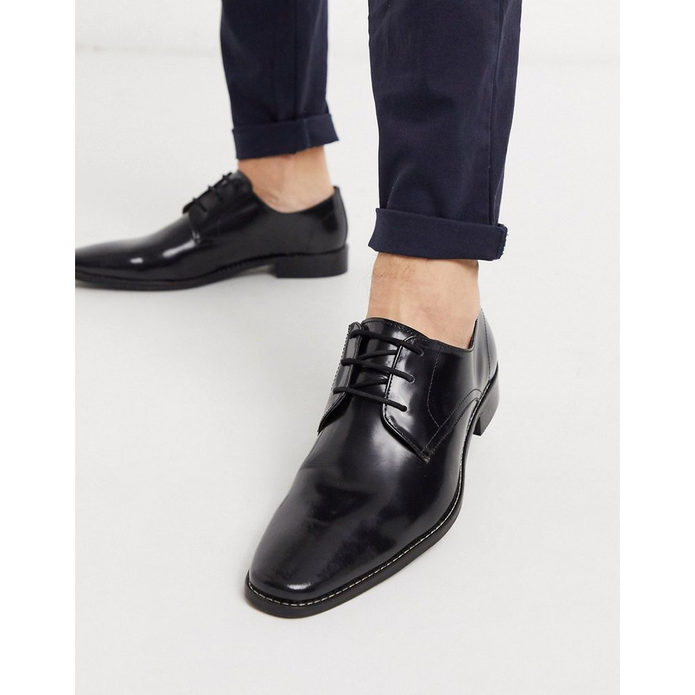 Chaussures richelieu en cuir à lacets - ultra brillant - Dune - Modalova