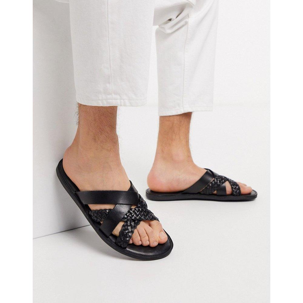 Sandales en cuir à brides tressées - Dune - Modalova