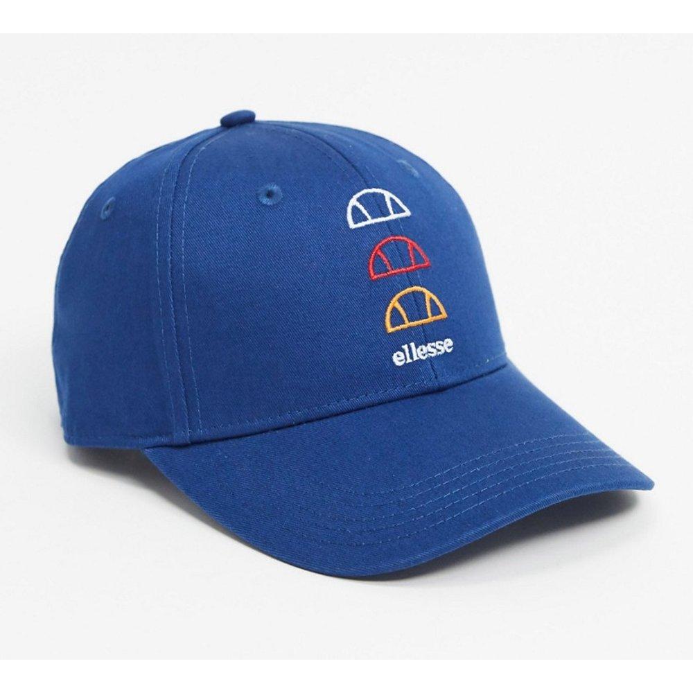 Casquette de baseball avec logo répété - Bleu marine - Ellesse - Modalova
