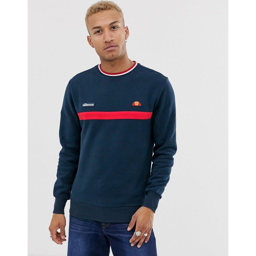 Columbus - Sweat-shirt rayé - Bleu marine - Ellesse - Modalova
