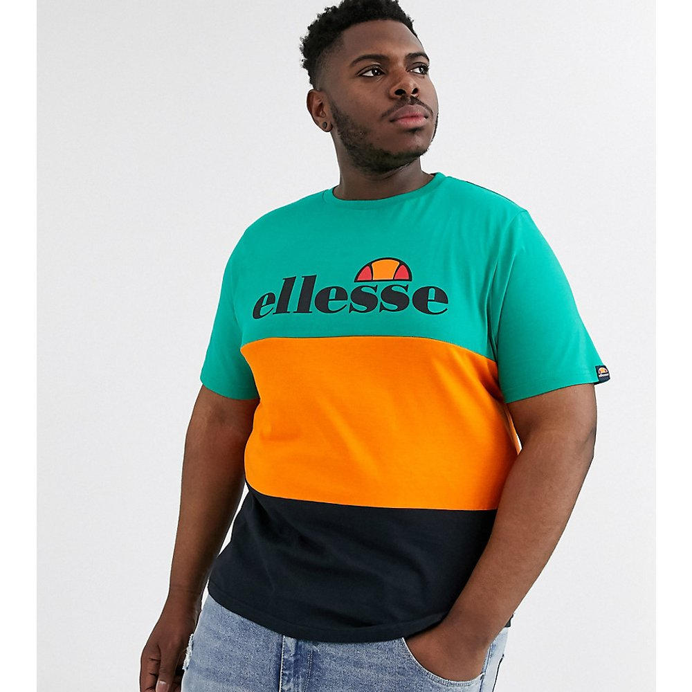 Plus - Larancia - T-shirt color block - - Exclusivité ASOS - Ellesse - Modalova
