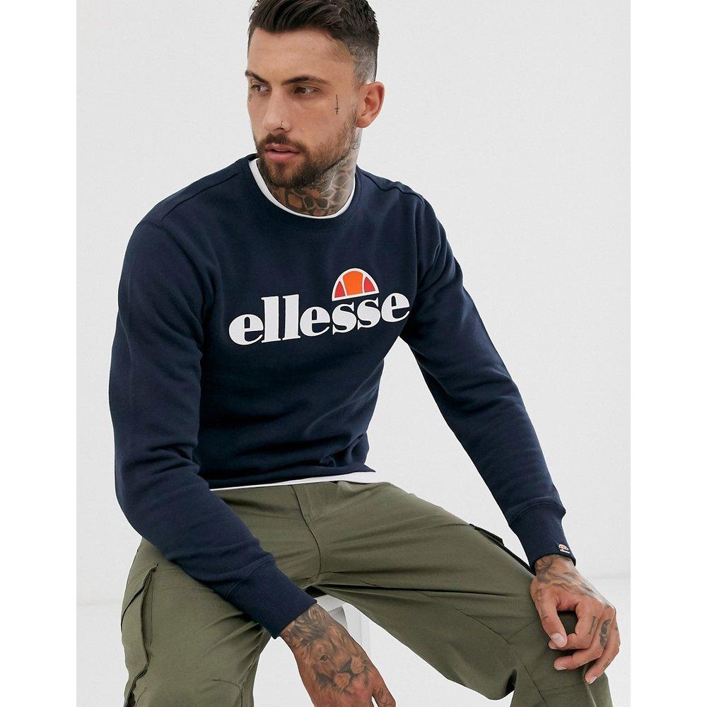 Succiso - Sweat-shirt à logo classique - Bleu marine - Ellesse - Modalova