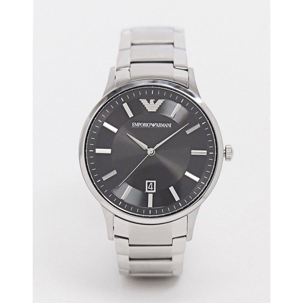 AR11181 - Montre-bracelet avec cadran noir - Emporio Armani - Modalova