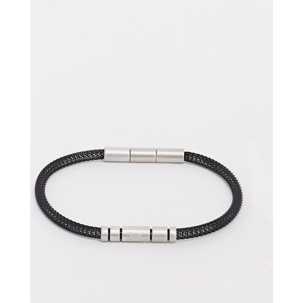 Bracelet en maille - Emporio Armani - Modalova