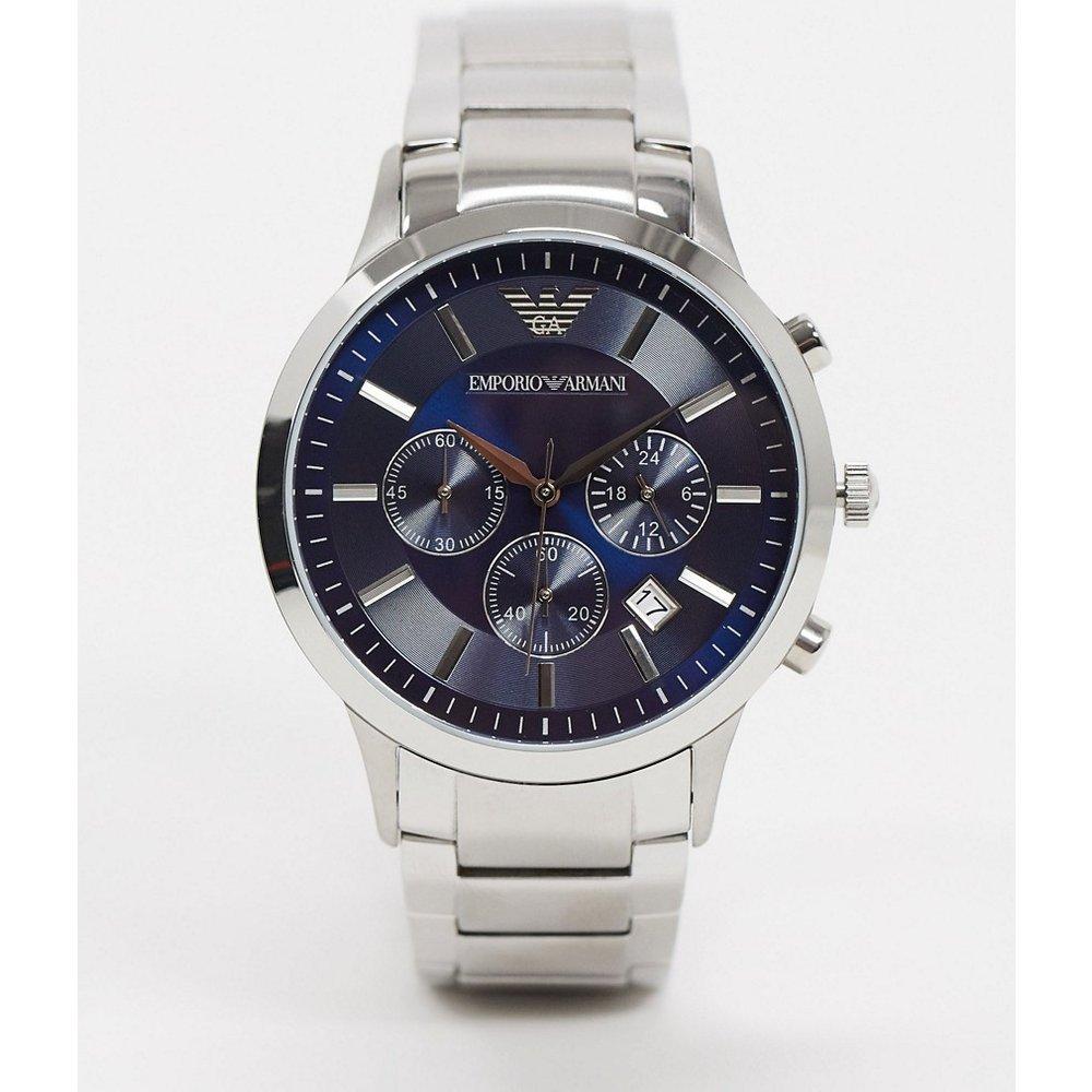 Montre bracelet avec cadran bleu - AR2448 - Emporio Armani - Modalova