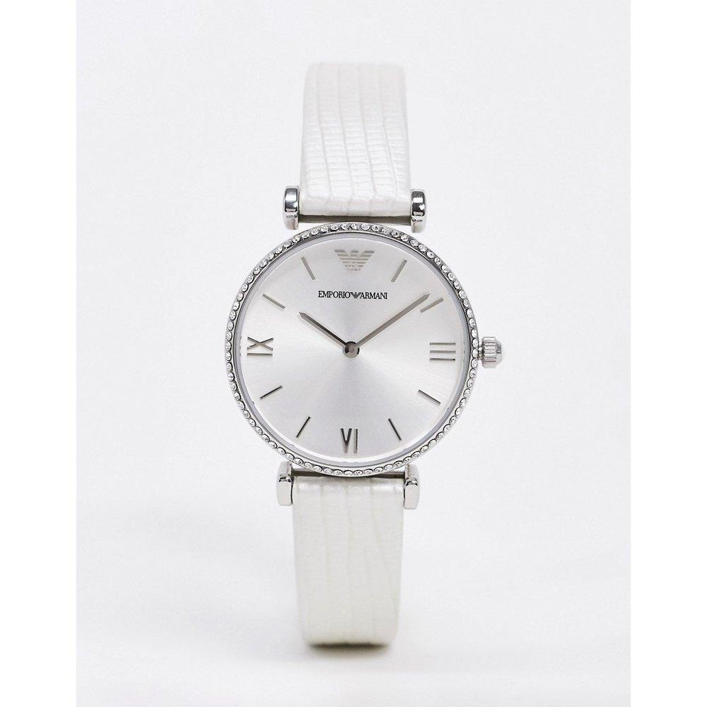 Montre-bracelet en cuir - Emporio Armani - Modalova