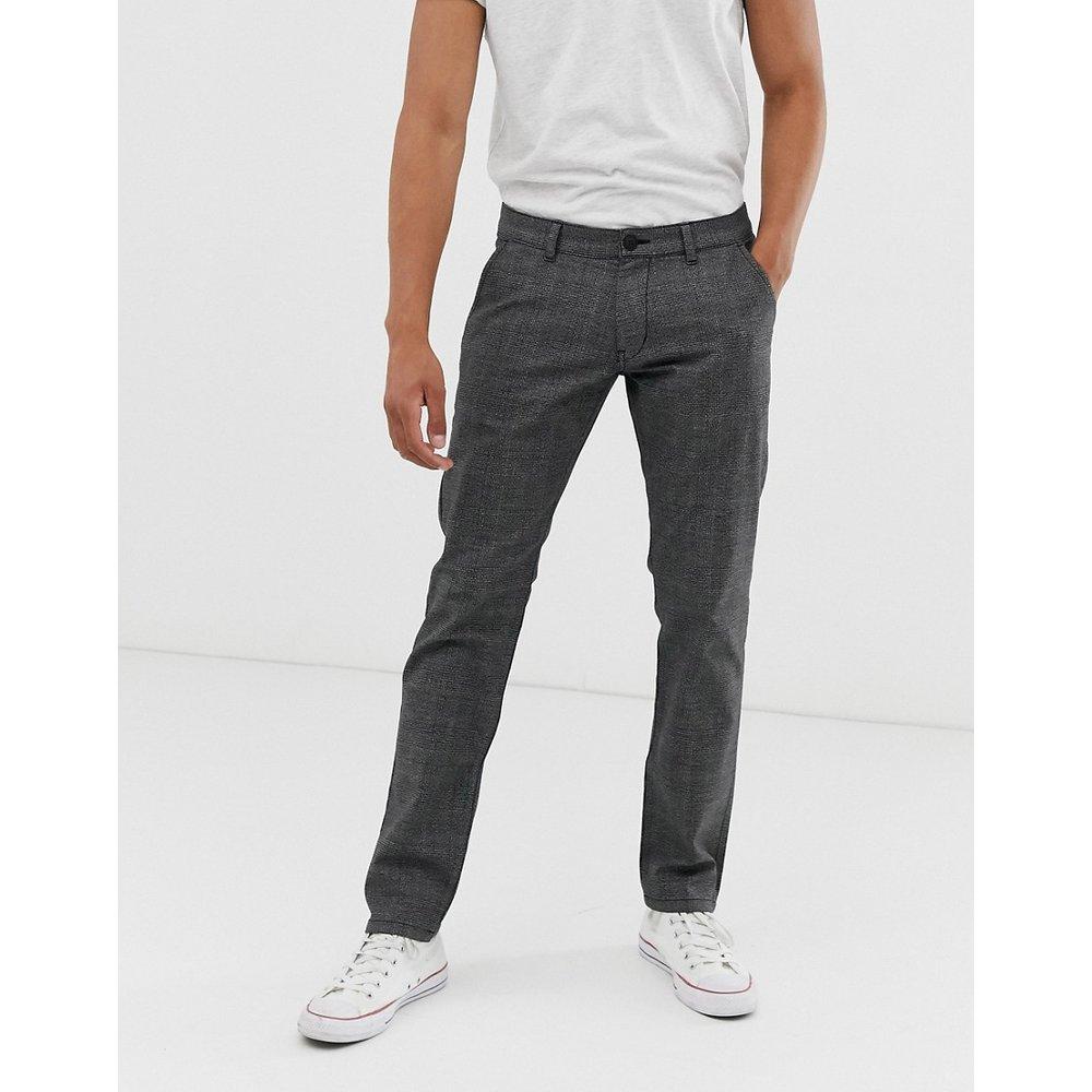 Pantalon à carreaux coupe slim - Esprit - Modalova