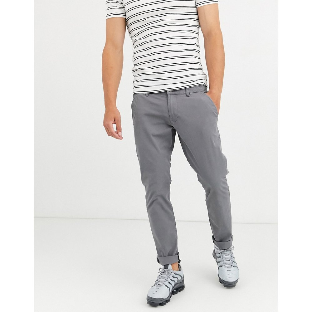 Pantalon chino coupe slim - Esprit - Modalova
