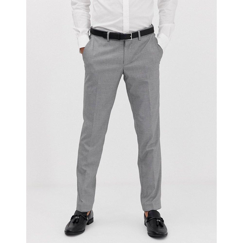 Pantalon de costume slim à petits motifs pied-de-poule - Esprit - Modalova