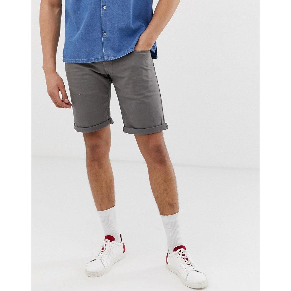 Esprit - Short en jean slim - Gris - Esprit - Modalova