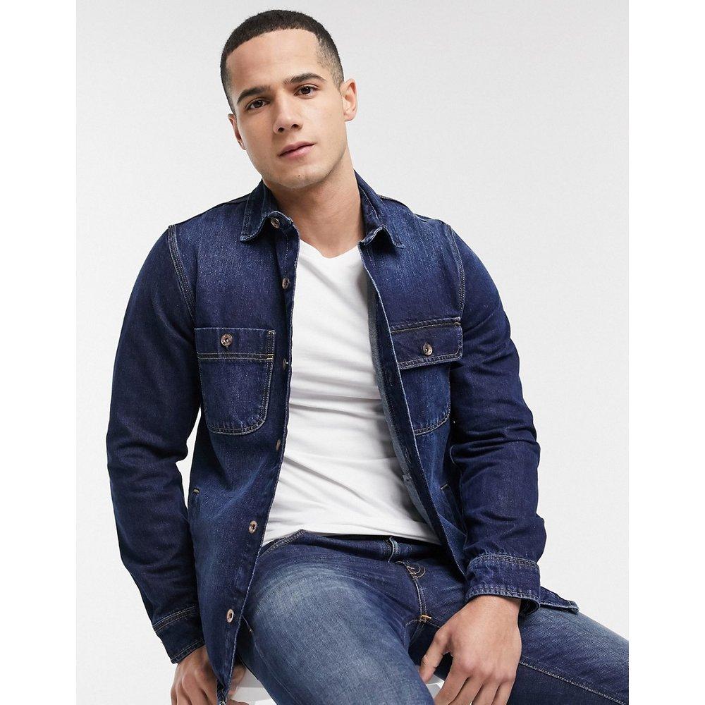 Veste en jean style chemise - Esprit - Modalova