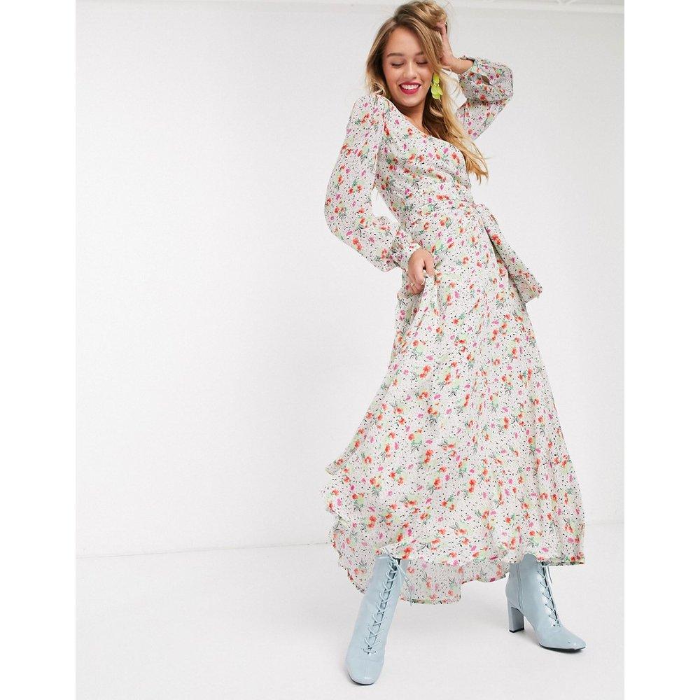 Vemale - Robe longue fleurie - cassé - Essentiel Antwerp - Modalova