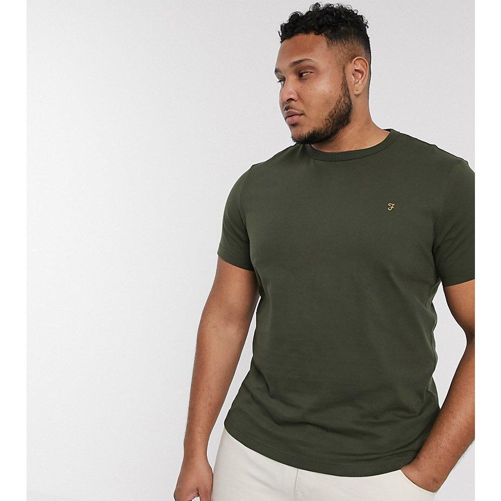 Dennis - T-shirt coupe slim - Kaki - Farah - Modalova