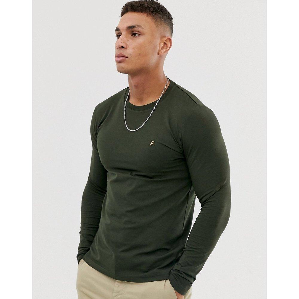 Southall - T-shirt ultra ajusté à manches longues et logo - Farah - Modalova