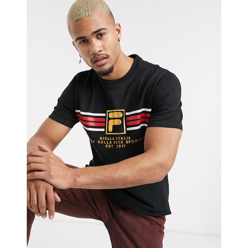 Benz - T-shirt à logo - Noir - Fila - Modalova