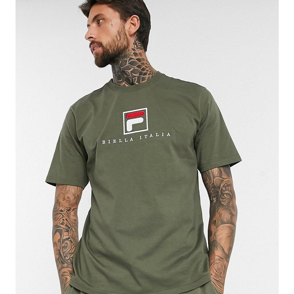 Blade - T-shirt à logo d'archive exclusivité ASOS - Kaki - Fila - Modalova