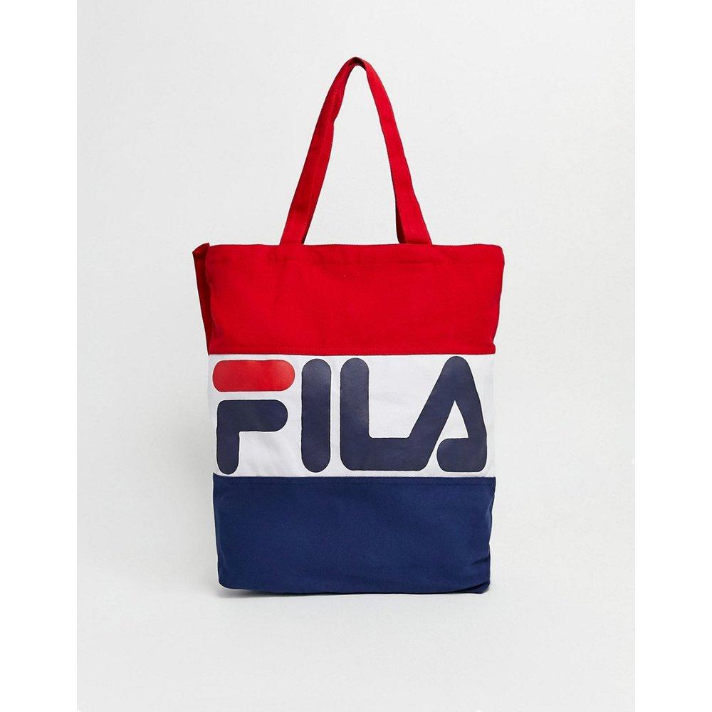 Flavour - Tote bag tricolore avec logo - Fila - Modalova