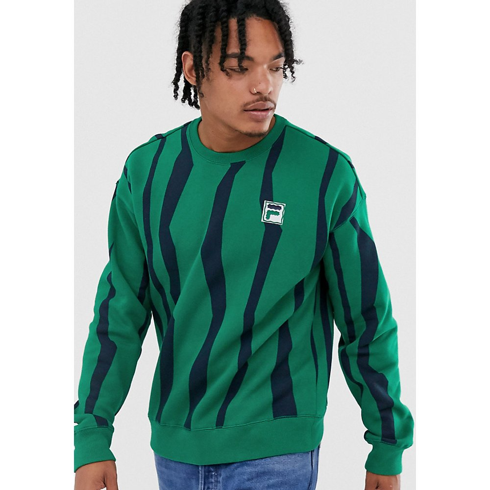 Tribe - Sweat-shirt à écusson - - Exclusivité ASOS - Fila - Modalova