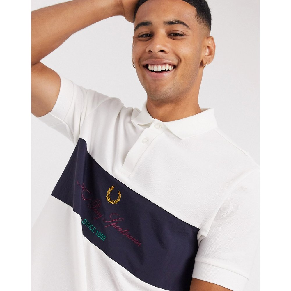 Polo à logo archive - Fred Perry - Modalova