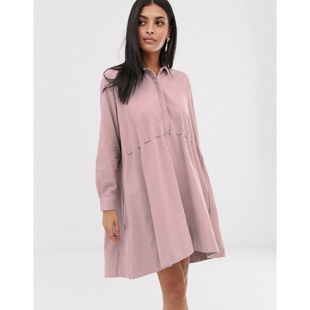 Robe chemise à cordon - French Connection - Modalova