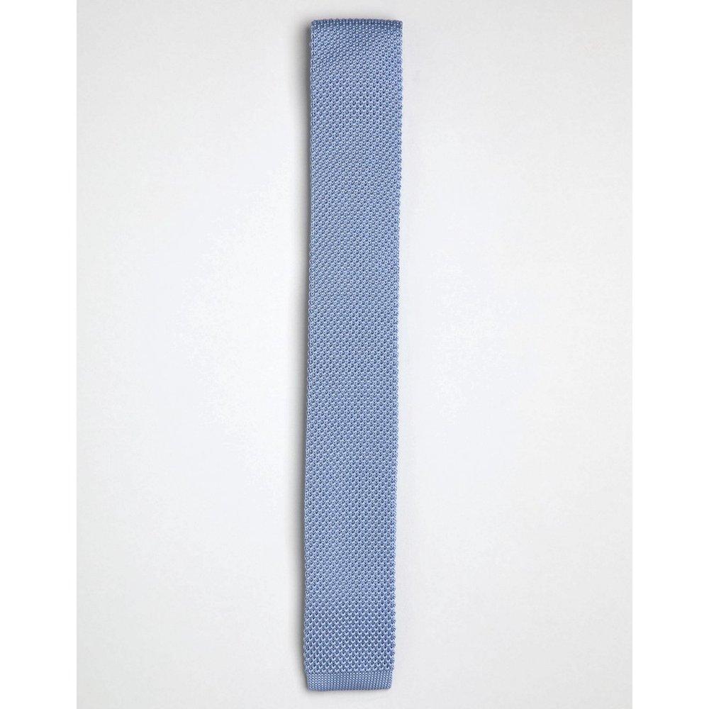 Cravate en maille - cendré - Gianni Feraud - Modalova