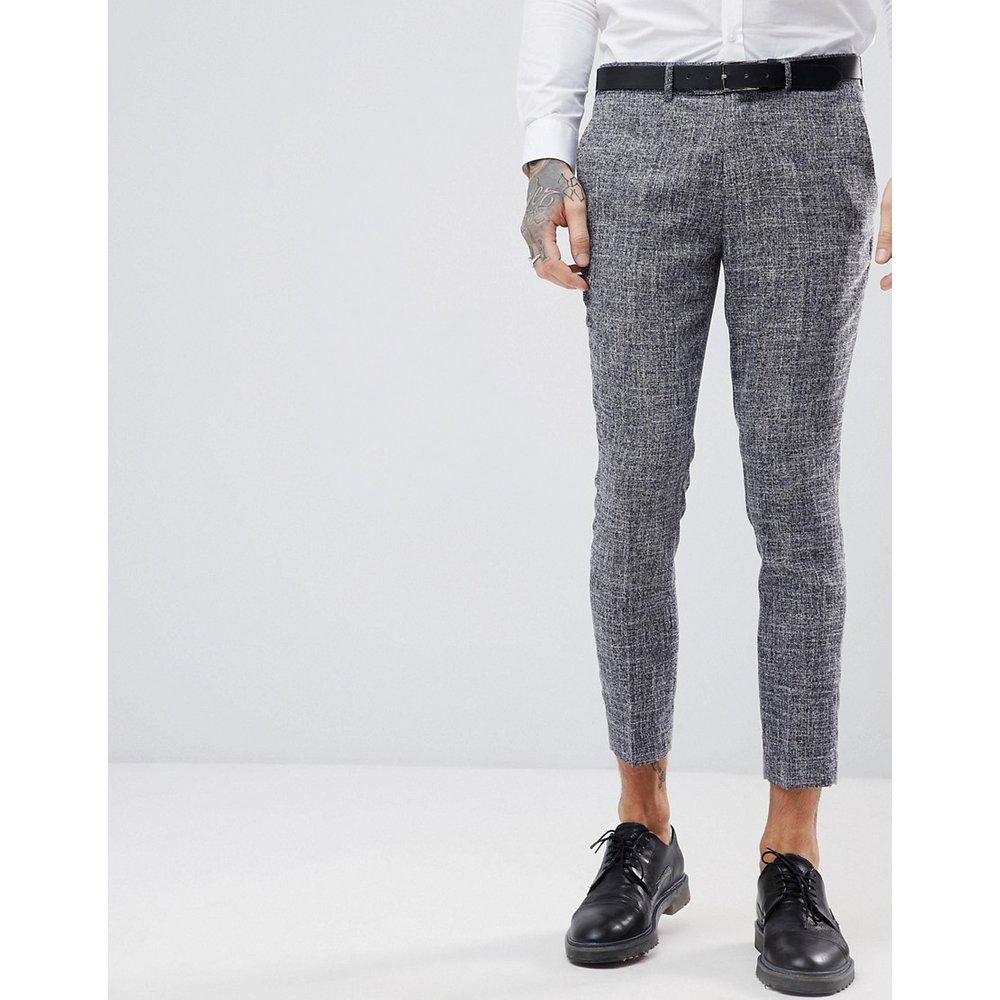 Pantalon de costume court et ajusté à motif moucheté - Gianni Feraud - Modalova